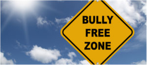 road sign that says Bully Free Zone